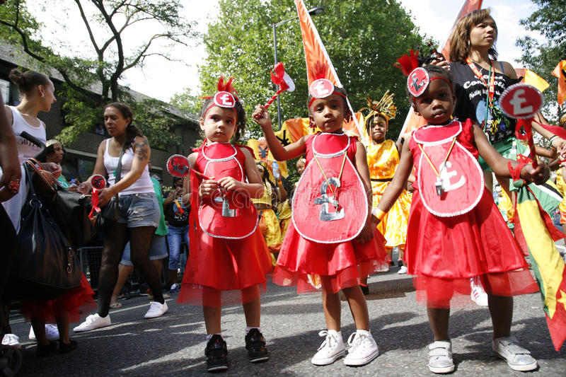 Download 2012, Notting- Hillkarneval Redaktionelles Stockbild - Bild von karosserie, kinder: 26354254