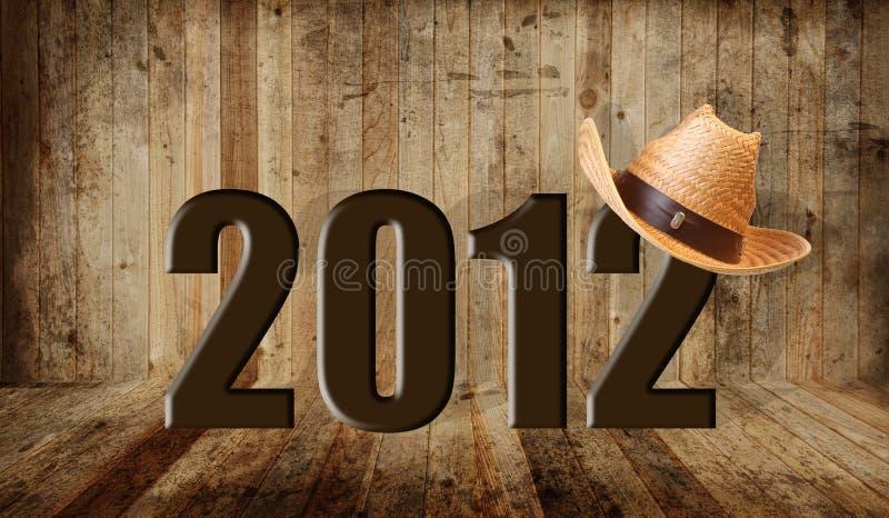 2012 ocidental imagens de stock royalty free