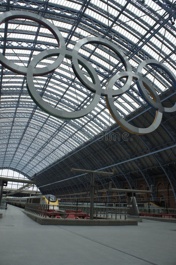 Download 2012 Olympic editorial image. Image of station, empty - 26395140