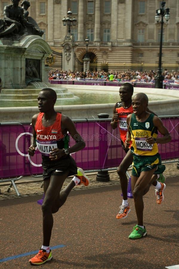 2012 Olympic Marathon Editorial Stock Photo