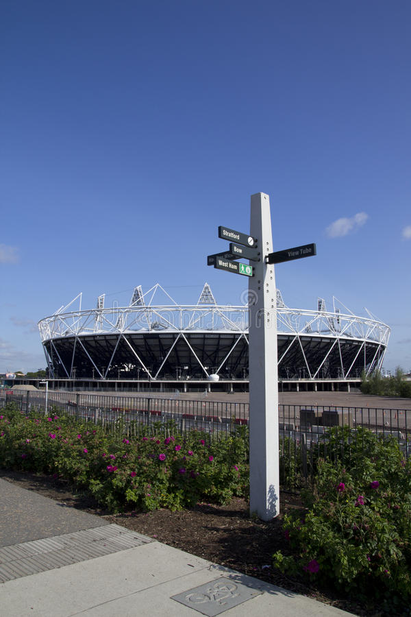 Download 2012 Olympic Stadium editorial image. Image of architecture - 19899690