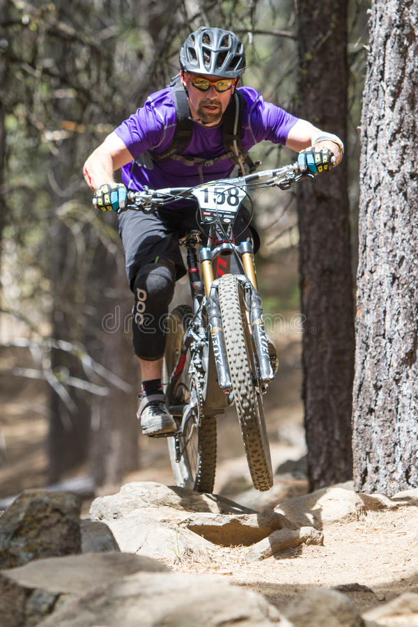 Free 2012 Oregon Enduro Series Race 1: Bend, OR Royalty Free Stock Photography - 25203087