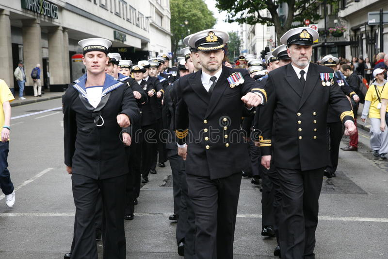 2012, Orgulho De Londres, Worldpride Imagem Editorial