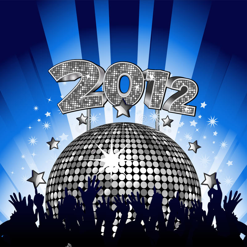 2012 Party vector illustration