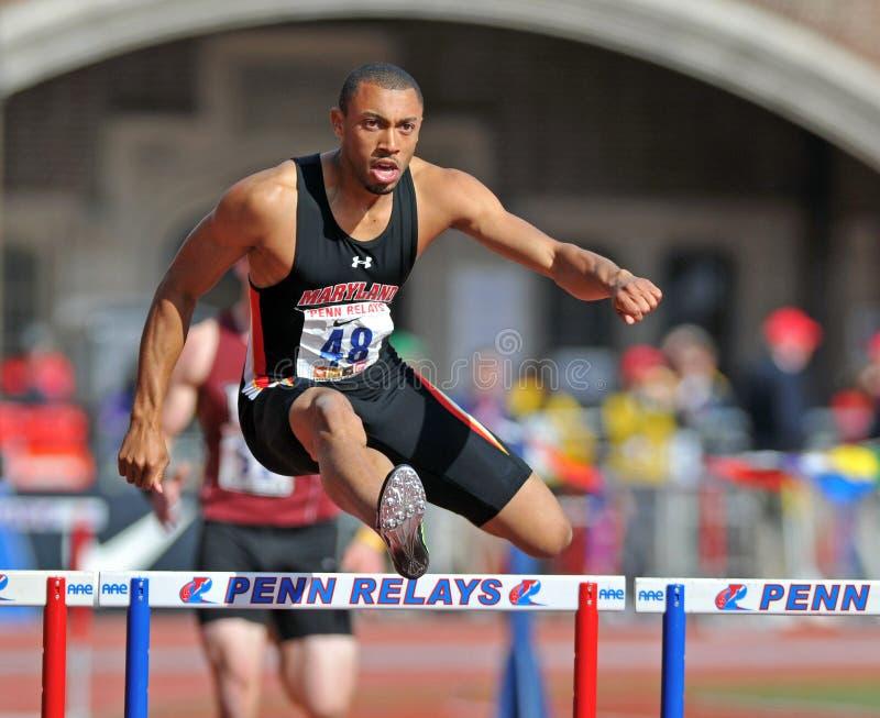 2012 relais de Penn - obstacles de mens photographie stock