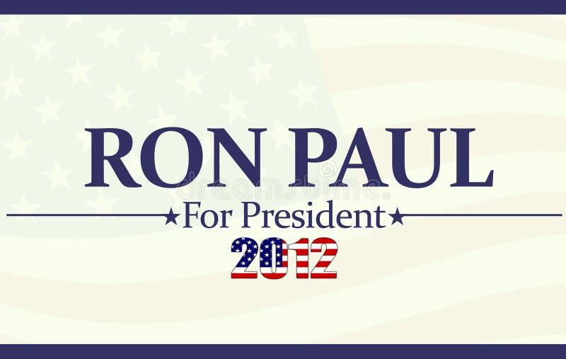 2012 Ron Paul stock foto
