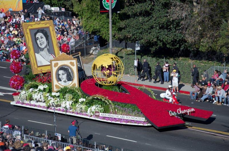 2012 Tournament Of Roses Parade-AIDS Editorial Image