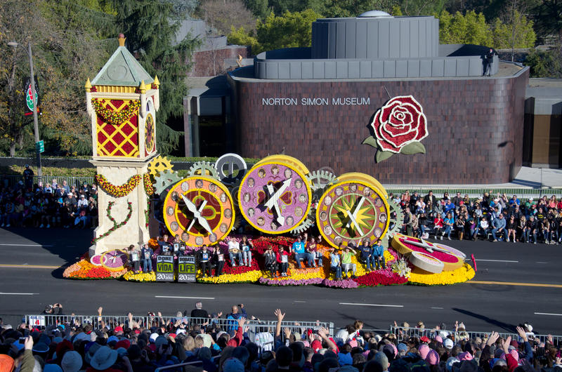 Download 2012 Tournament Of Roses Parade-Donate Life Editorial Stock Image - Image: 22685589