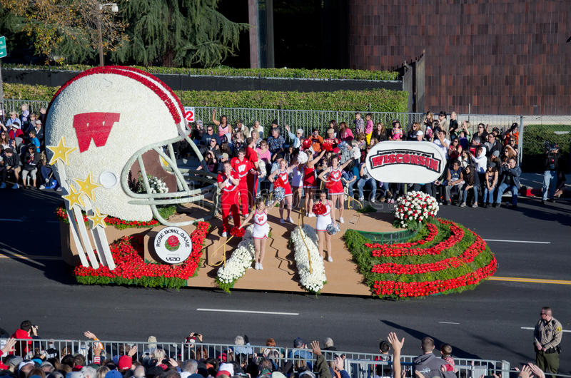 Download 2012 Tournament Of Roses Parade-Wisconsin Editorial Image - Image: 22673565