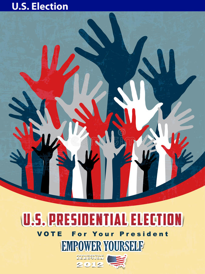 2012 U S  Presidential Election poster