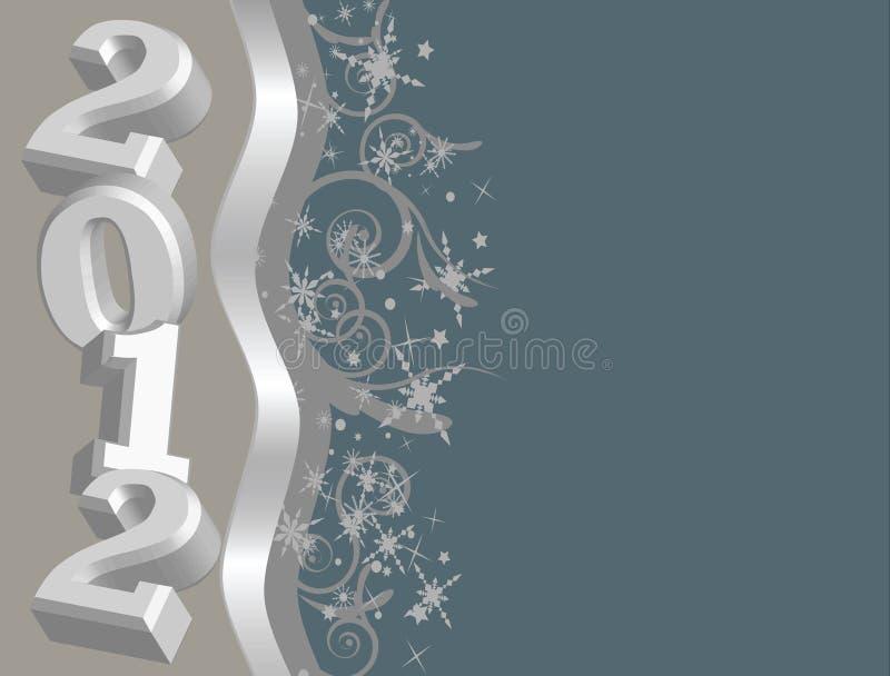 2012 Vectorbeeld met exemplaarruimte! vector illustratie