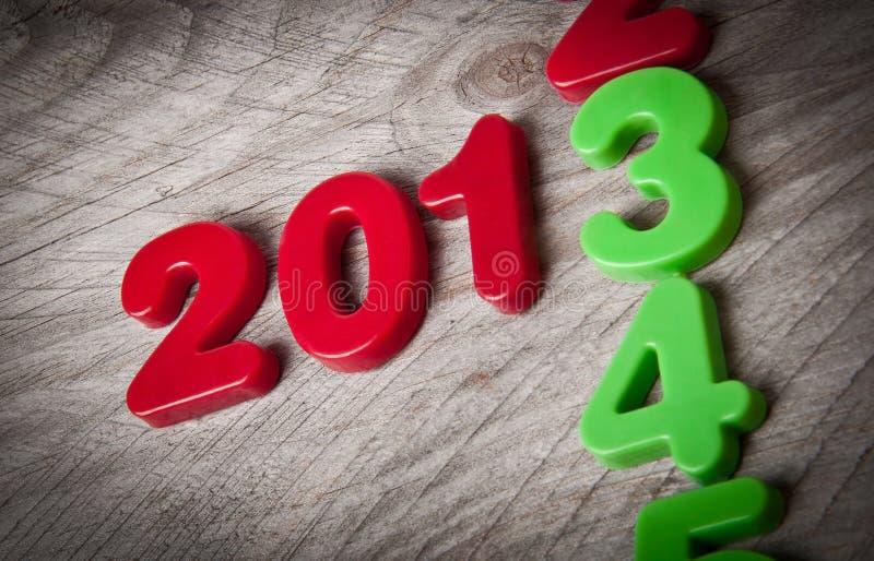 2013新年度 免版税库存照片