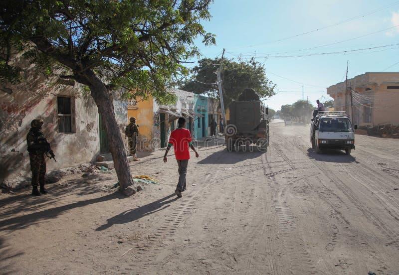 2013_10_20_AMISOM_KDF_Kismayo_Town_003 arkivfoton