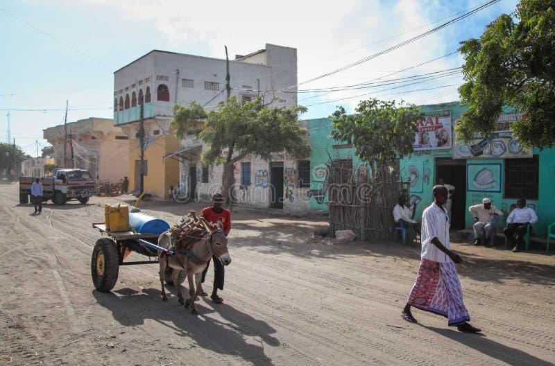 2013_10_20_AMISOM_KDF_Kismayo_Town_004 fotografering för bildbyråer