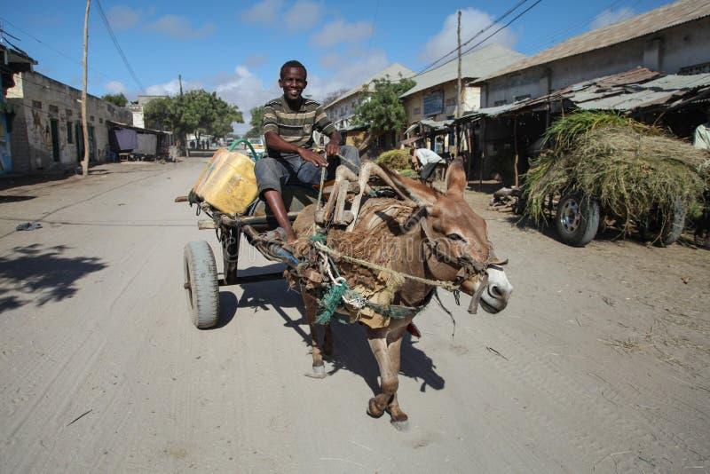 2013_10_20_AMISOM_KDF_Kismayo_Town_005 royaltyfri fotografi