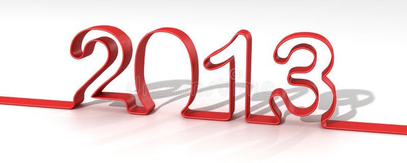 2013 ans illustration stock