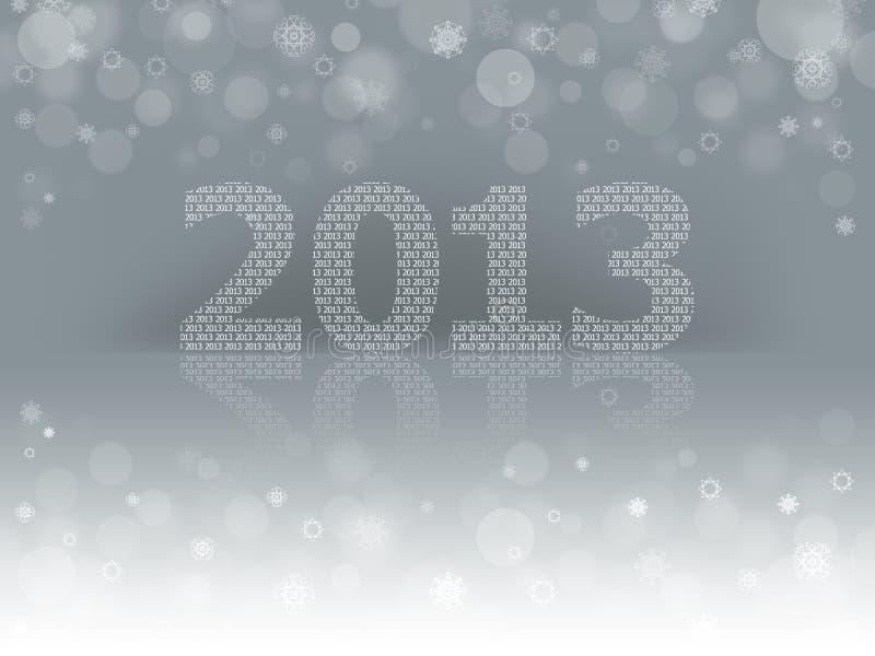 2013 ans neuf illustration libre de droits