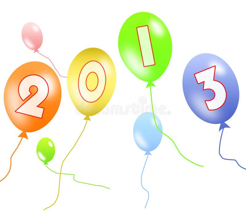 Download 2013 balloon stock image. Image of color, birthday, party - 26801873