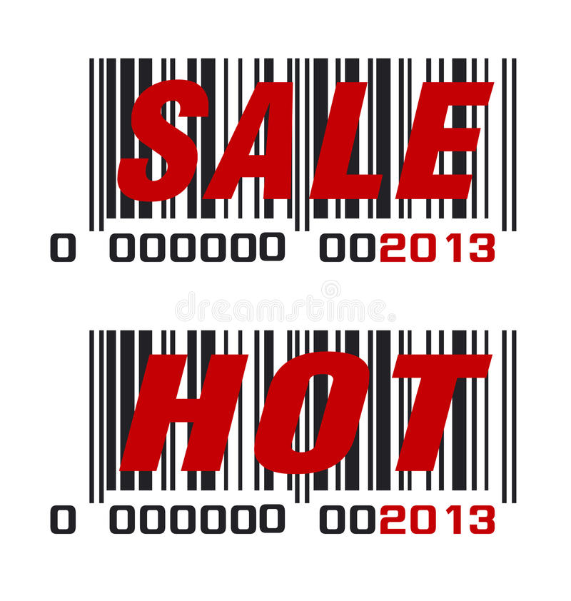 2013 barcode royalty ilustracja