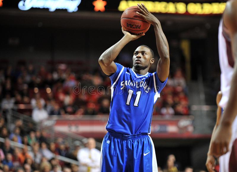 2013 basket-ball de NCAA - lancer franc photos stock