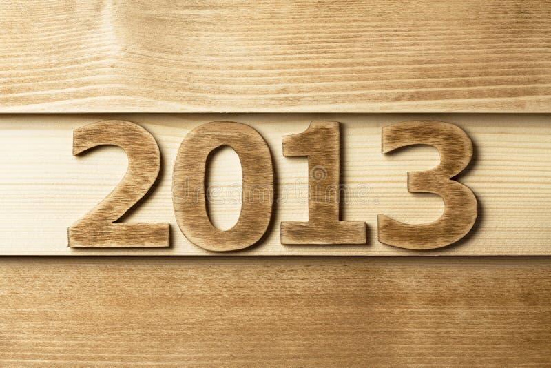 2013 de madera fotos de archivo