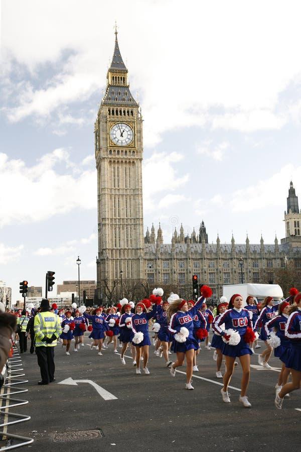 2013, desfile del día de Años Nuevos de Londres