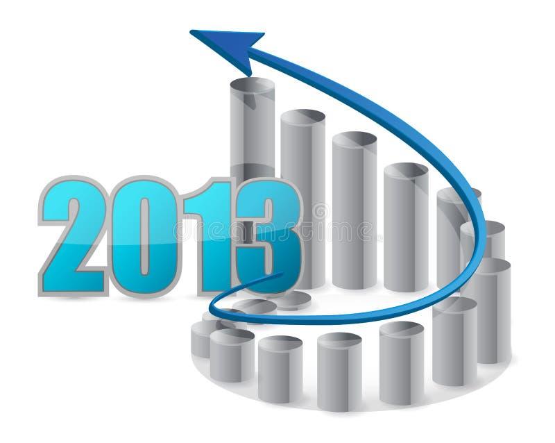 2013 grafici commerciali illustrazione vettoriale