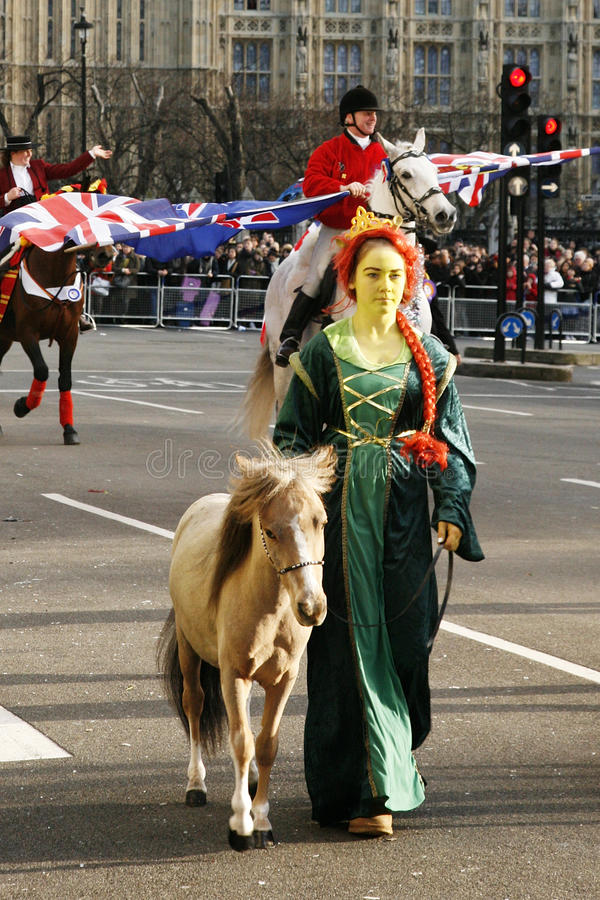 Download 2013, London New Years Day Parade Editorial Photo - Image: 28533576