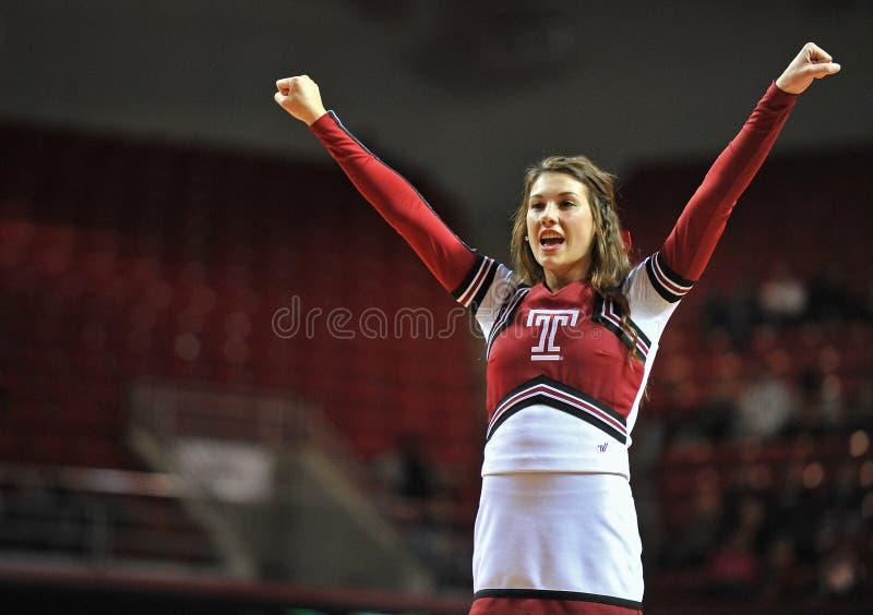 2013 NCAA koszykówka - chirliderka obrazy royalty free