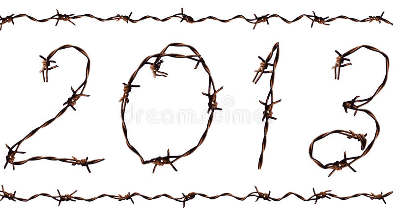 Download 2013 New Year stock illustration. Image of snake, white - 27983959