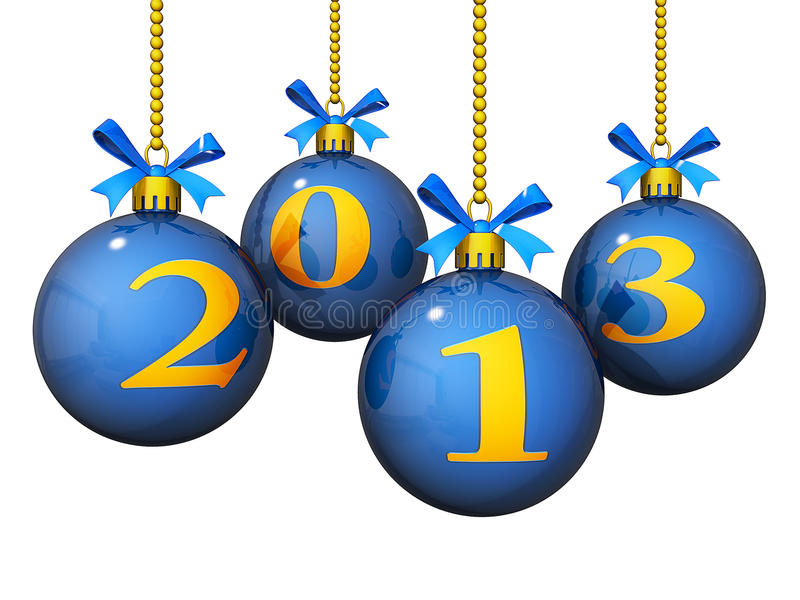 Download 2013 New Year Ornaments Stock Photography - Image: 26948542