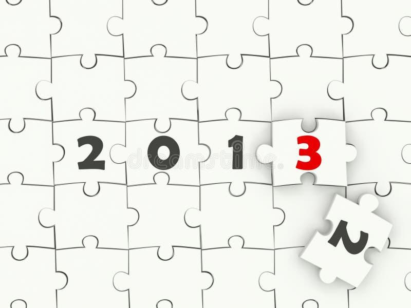 2013 New year symbol royalty free stock photo