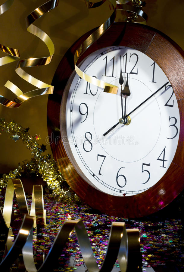 2013 New Years Party Background Royalty Free Stock Photography