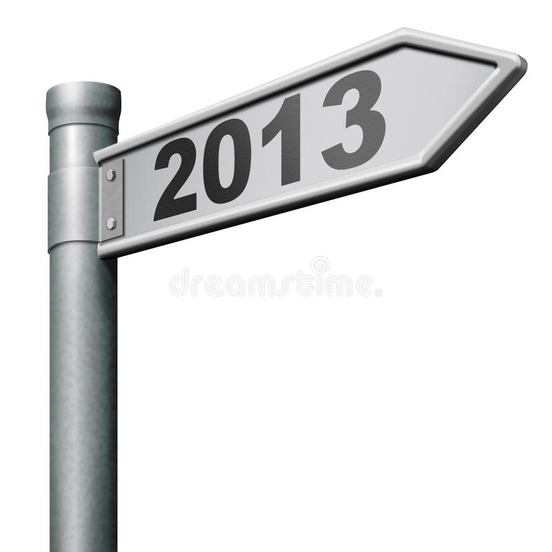 Download 2013 next new year stock illustration. Image of metal - 27151131