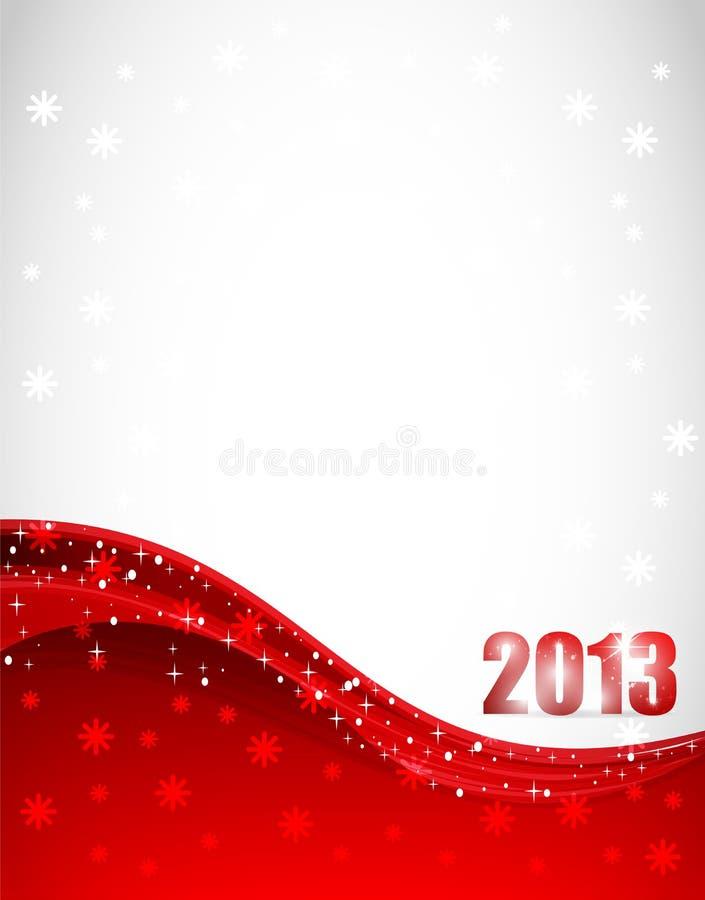 2013 nuovi anni illustrazione di stock