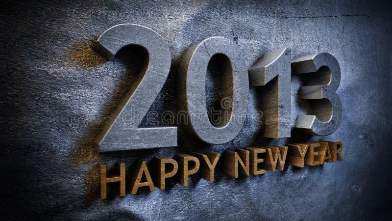 2013 nya år vektor illustrationer