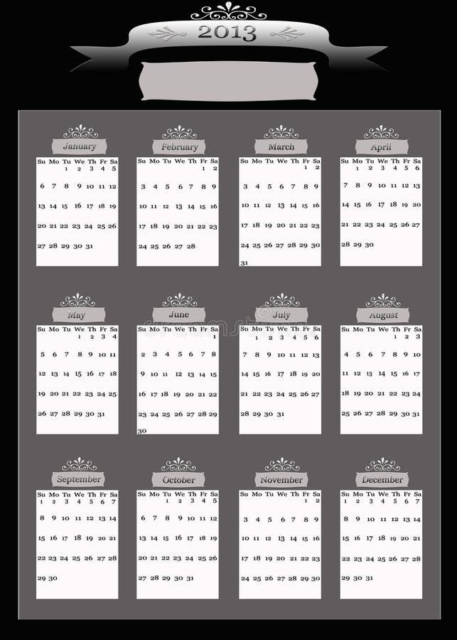 Download 2013 Professional Business Calendar Stock Photos - Image: 28764643