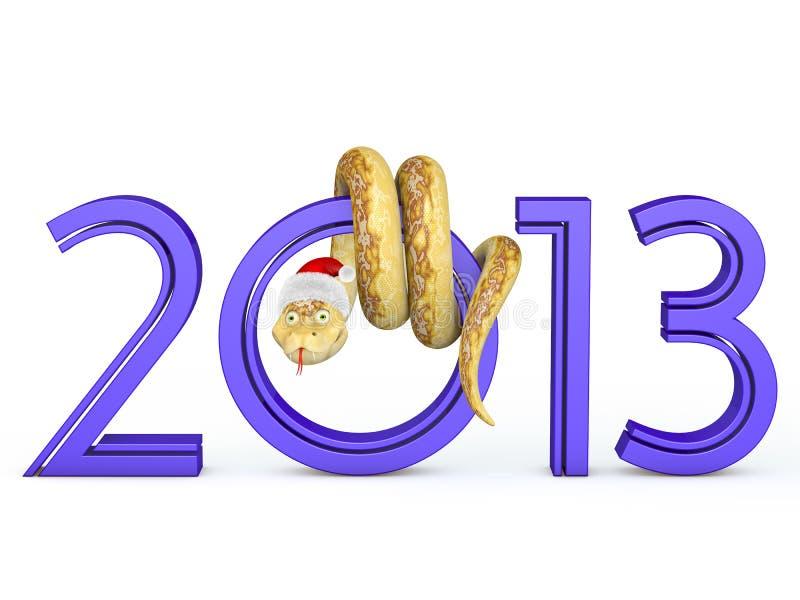 2013 Snake stock illustration