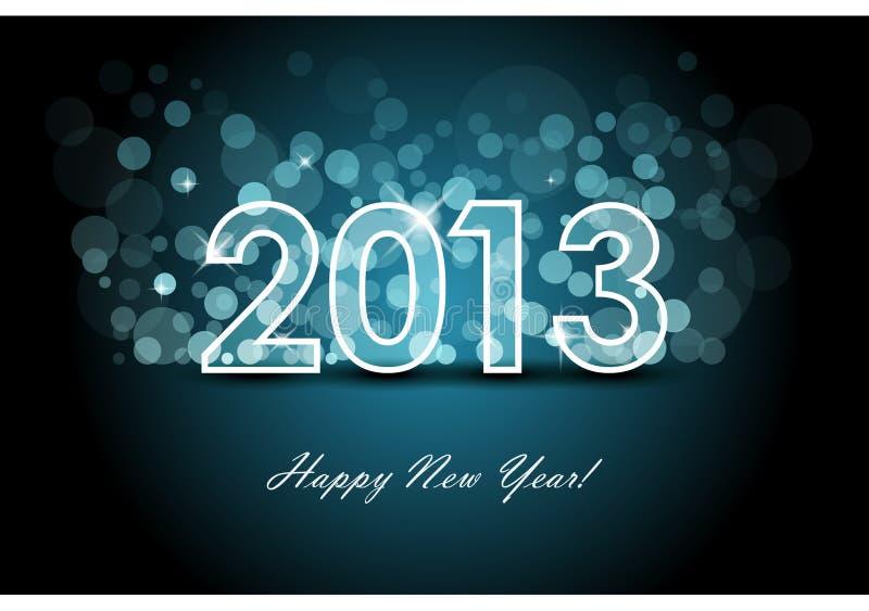 2013 tło nowy rok ilustracji