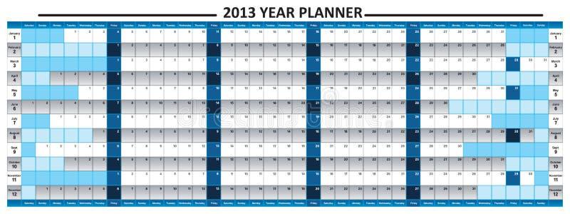 2013 Year Planner