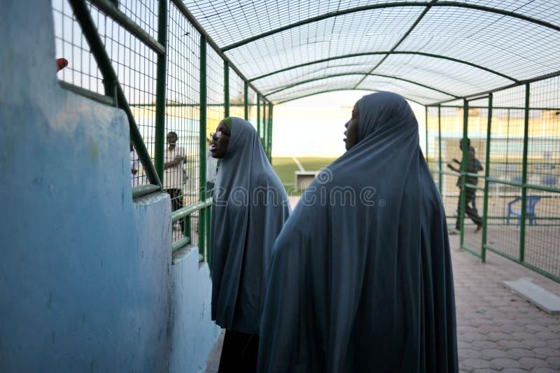 2014_01_31_Mogadishu_Football-14 lizenzfreie stockbilder