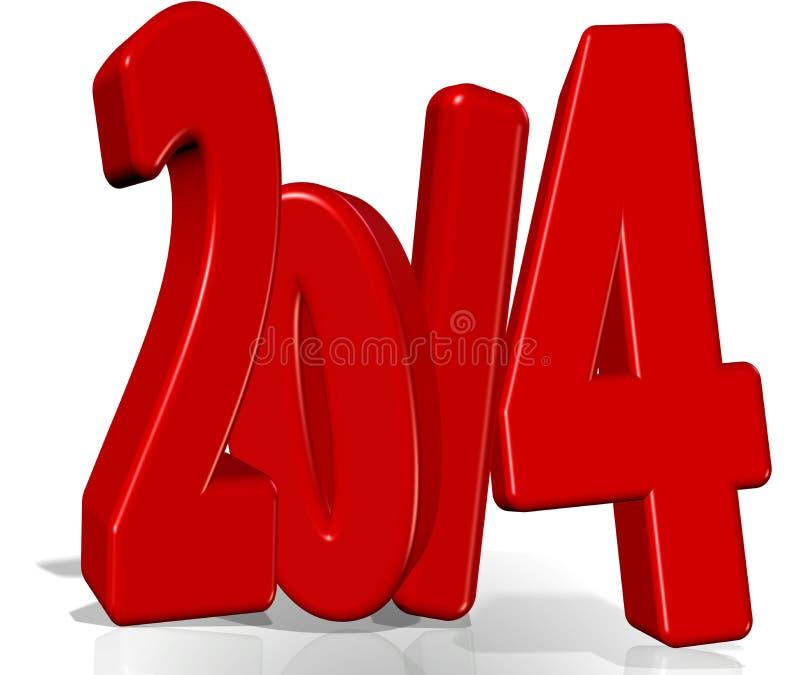 Download 2014 !!! stock illustration. Image of countdown, beginnings - 28963753