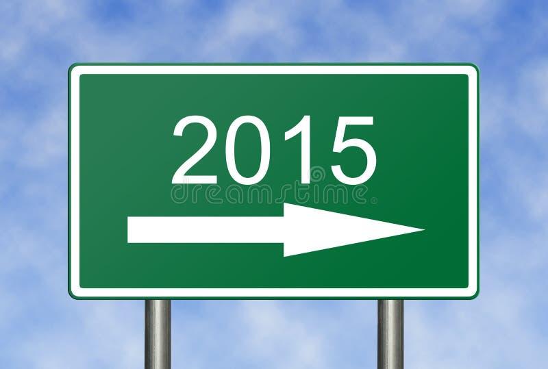 In 2015 lizenzfreies stockbild