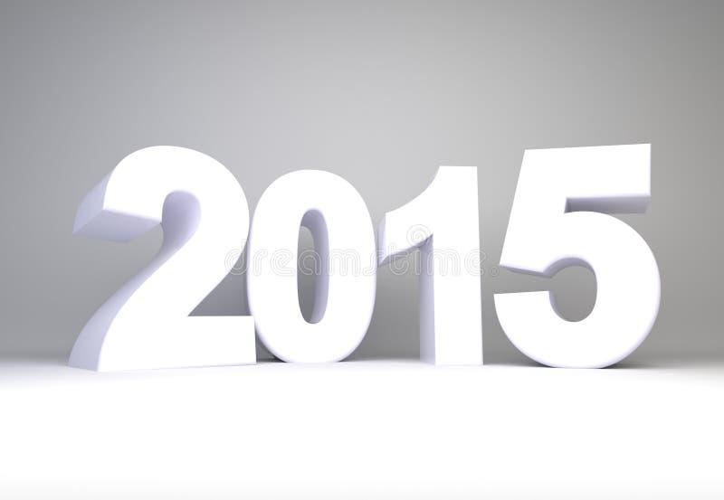 An 2015 illustration stock