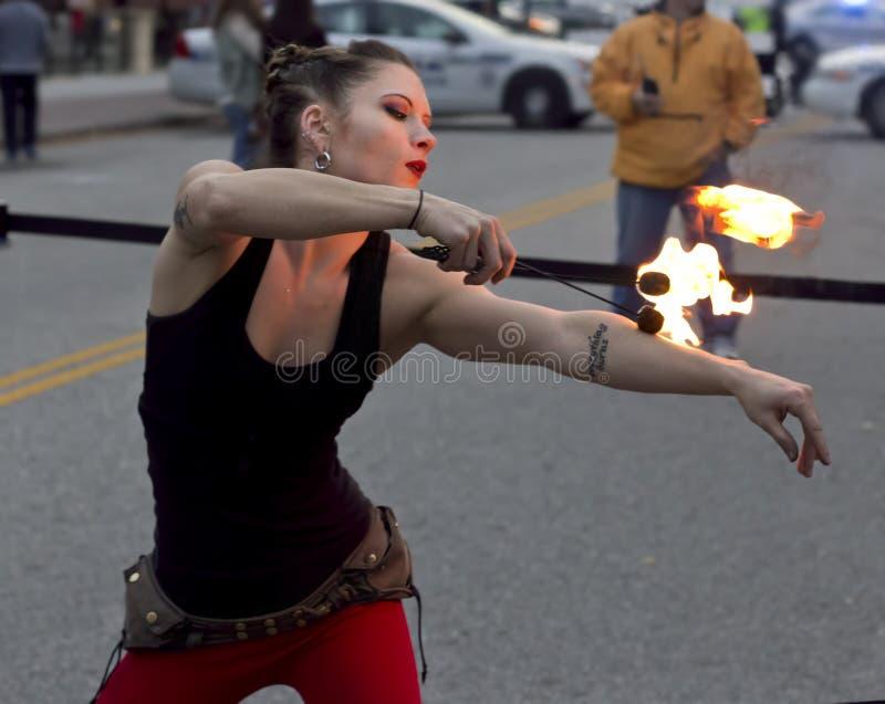 2016 Hollydazzle Newport News Virginia Fire Dance Lady Free Public Domain Cc0 Image
