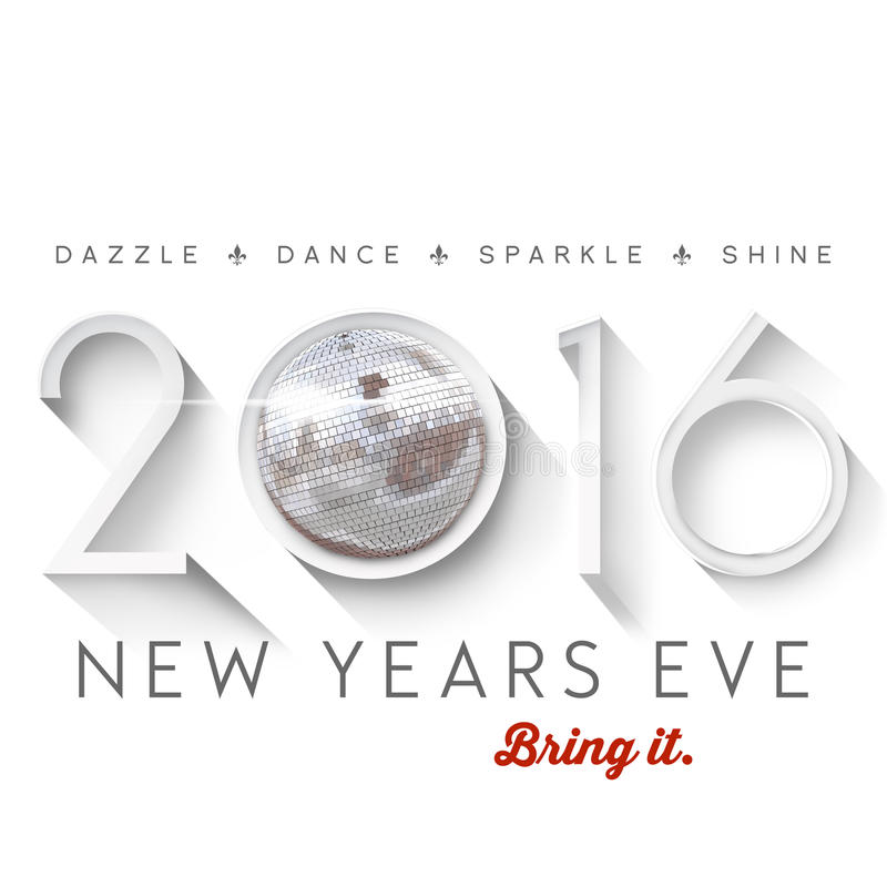 Free 2016 New Years Eve Royalty Free Stock Images - 55956509