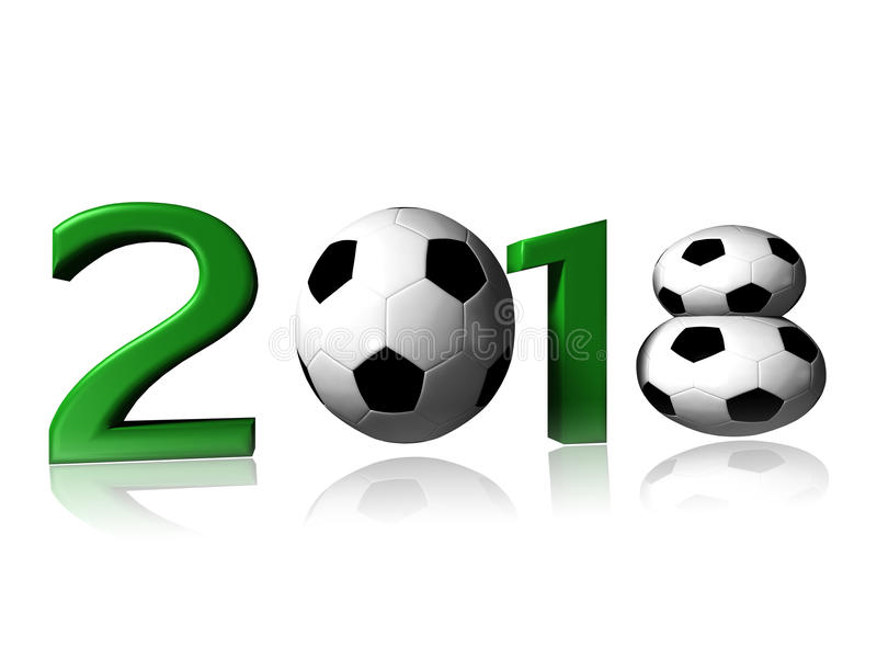 2018 soccer logo stock photo image of white worldcup