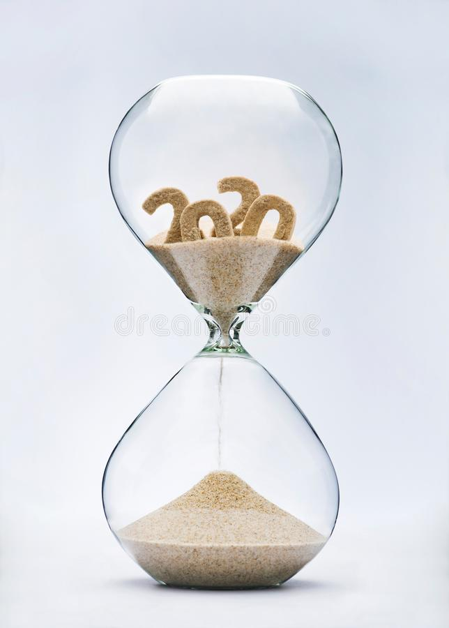 Free 2020 Running Out Of Time Royalty Free Stock Image - 155321936