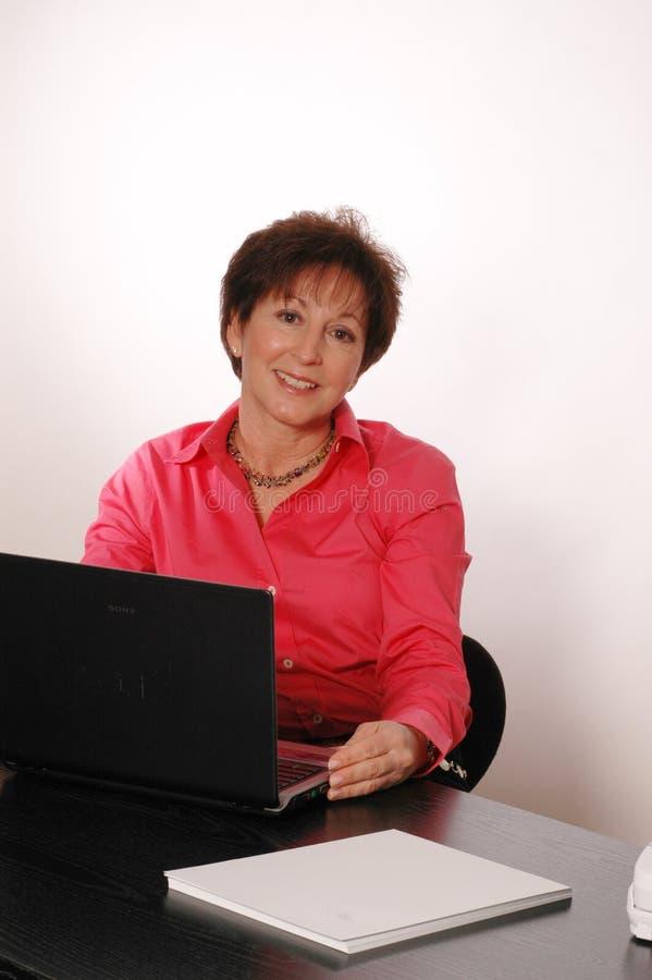 2076 uśmiechów biurowych fotografia stock