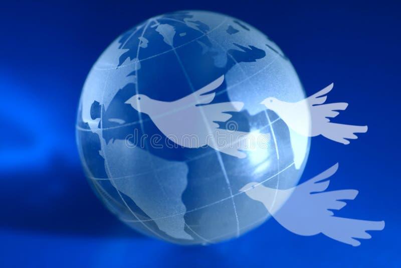 全球和平 库存例证